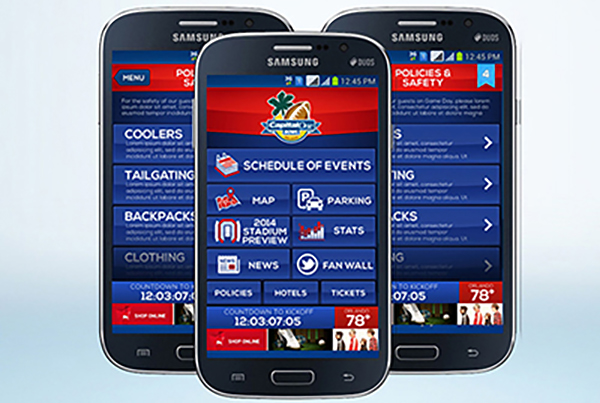 Florida Citrus Sports Capital One Bowl & Russell Athletic Bowl Fan Apps